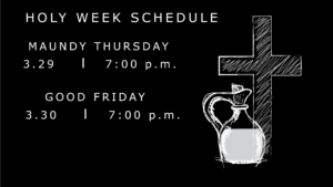 Holy Week Schedule-01