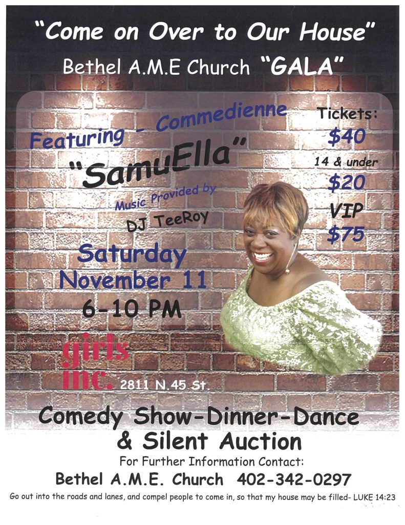 Bethel AME event